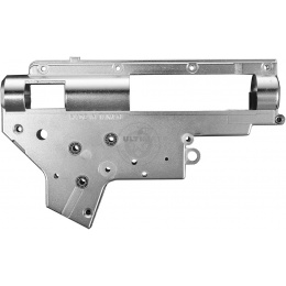ASG CNC Machined 8mm Version 2 Chromium-Plated Gearbox Shell