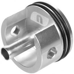 ASG CNC Aluminum SR-25 & LMG Airsoft Cylinder Head w/ Rubber Bumper