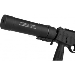 ASG B&T Licensed 8-Inch Airsoft MP9 QD Barrel Extension - 205 mm