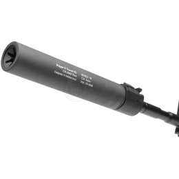 ASG B&T Rotex III A Airsoft Mock Suppressor Barrel Extension - GRAY