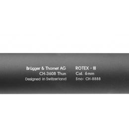ASG B&T Rotex III A Airsoft Mock Suppressor Barrel Extension - GRAY