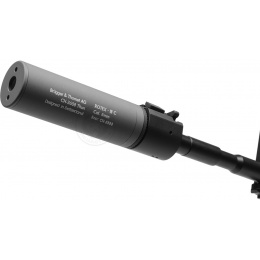 ASG B&T Rotex III C Airsoft Mock Suppressor Barrel Extension - GRAY