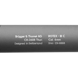 ASG B&T Rotex III C Airsoft Mock Suppressor Barrel Extension - GRAY