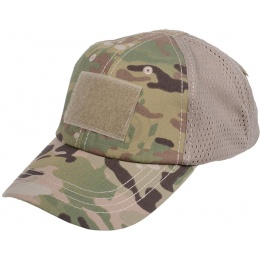 Condor Outdoor Camouflage Tactical Mesh Cap - GENUINE MULTICAM