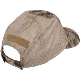 Condor Outdoor Camouflage Tactical Mesh Cap - Kryptek Highlander