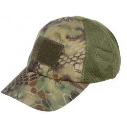 Condor Outdoor Camouflage Tactical Mesh Cap - Kryptek Mandrake