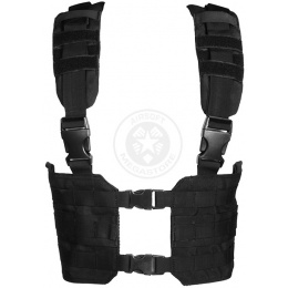 Condor Outdoor MCR7 Ronin Tactical MOLLE Split Chest Rig - BLACK