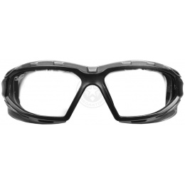 Valken Airsoft ANSI Z87 Rated V-TAC Echo Convertible Goggles - Clear
