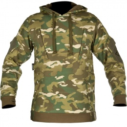 Cast Gear Tactical Pullover Hoodie w/ Hook and Loop Panels - C-Cam