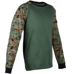 Cast Gear Tactical Combat Shirt - WOODLAND MARPAT