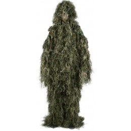 Blue Ridge 3 Piece Modern Warrior Adult Ghillie Suit - WOODLAND