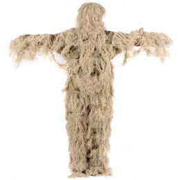 Blue Ridge 3 Piece Modern Warrior Adult Ghillie Suit - DESERT