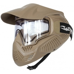 Valken Annex MI-7 Full Face Airsoft Mask w/ Visor - TAN