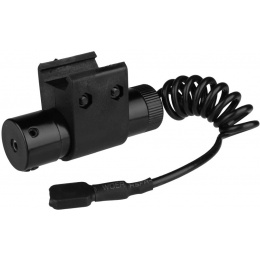 AMA Airsoft Rail Mounted Pressure Switch Red Laser