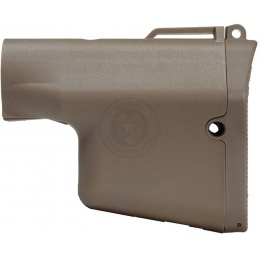 Madbull Airsoft Troy Industries Battle Ax Stock - TAN