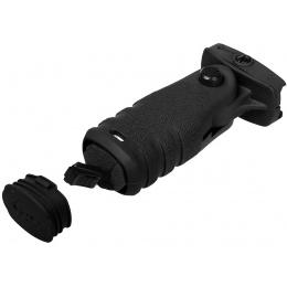 MFT Mission First Tactical React Folding Vertical Grip - BLACK