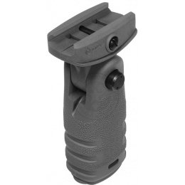 MFT Mission First Tactical Airsoft React Folding Vertical Grip - GRAY