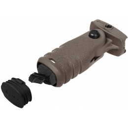 MFT Mission First Tactical Airsoft React Folding Grip - DARK EARTH