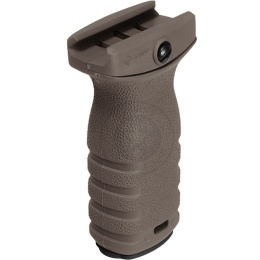 MFT Mission First Tactical React Short Grip - SCORCHED DARK EARTH