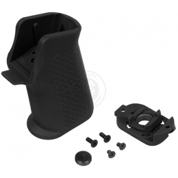 Madbull Airsoft Troy Battle Axe AEG Medium Type Motor Grip - BLACK