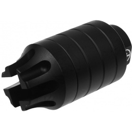 Madbull Airsoft PWS CQB Flash Hider Compensator w/ Amplifier - BLACK