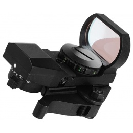 NcStar Green Zombie 4-Reticle Panorama Sight w/ QR Mount