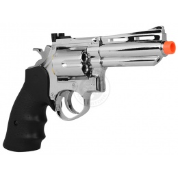 HFC .357 Style Gas Non Blowback Compact Airsoft Revolver - SILVER