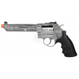 HFC Savaging Bull Magnum Revolver Gas Airsoft Pistol - SILVER