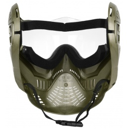 Valken Annex MI-7 Full Face Airsoft Mask w/ Visor - OD GREEN