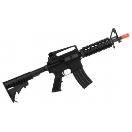WE Full Metal M4 CQB RIS Open Bolt GBBR Gas Blowback Airsoft Rifle