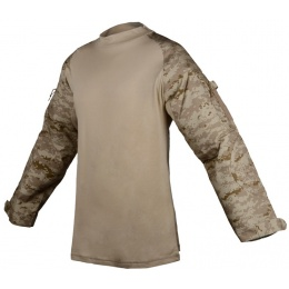 Rothco Military Combat Shirt w/ Hook and Loop Straps - DESERT DIGITAL