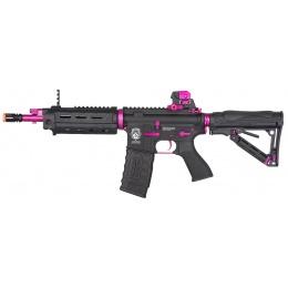 G&G GR4 G26 Femme Fatal ERG Airsoft AEG Rifle - BLACK / PINK