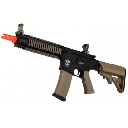G&G Combat Machine M4 MK18 MOD1 DST Airsoft AEG Rifle - BLACK / TAN