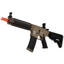 G&G Combat Machine M4 MK18 MOD1 DST Airsoft AEG Rifle - TAN / BLACK
