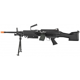 Classic Army Full Metal M249 MKII SAW Airsoft Machine Gun AEG