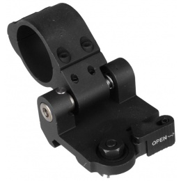 T&D Airsoft 30mm Quick Release Flahlight / Laser / Scope Mount