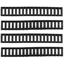 T&D Airsoft Slim Handguard Rail Cover Ladders Set of 4 - BLACK