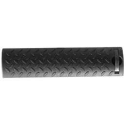 T&D Airsoft 15-Slot RIS Textured Rail Cover Panels Set of 4 - BLACK