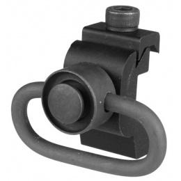T&D Airsoft 20mm Sling RIS / RAS Rail Mount w/ QD Sling Swivel