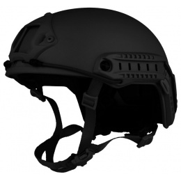 G-Force Ballistic BUMP Helmet w/ Side Adapter Rails - BLACK