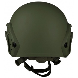 G-Force Ballistic BUMP Helmet w/ Side Adapter Rails - OD GREEN