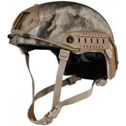 G-Force Ballistic BUMP Helmet w/ Side Adapter Rails - A-TACS