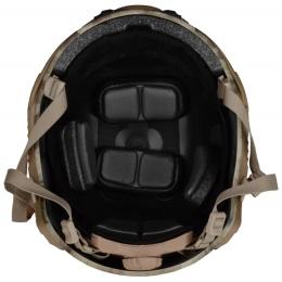 G-Force Ballistic BUMP Helmet w/ Side Adapter Rails - A-TACS