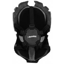 T&D Airsoft Wire Mesh Predator Full Face Mask - BLACK
