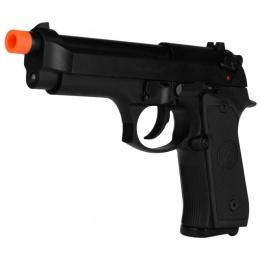Socom Gear Hitman M9 Airsoft GBB Pistol w/ Compensator - BLACK