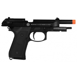 Socom Gear M9A1 SOF Airsoft GBB Pistol w/ Mock Suppressor - BLACK
