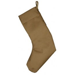 Tactical MOLLE Holiday Stocking w/ Hook and Loop Panels - COYOTE BROWN