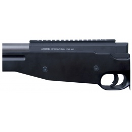 ASG AW Licensed 308. Airsoft Bolt Action Sniper Rifle - BLACK